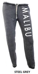 MALIBU SWEATS | Ocean Drive super soft burnout fleece Sweatpants