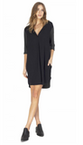 Gentle Fawn Taye Dress | Charcoal & Black