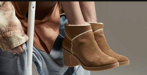 UGG Women's Kasen Ankle Boot | Chestnut | SALE