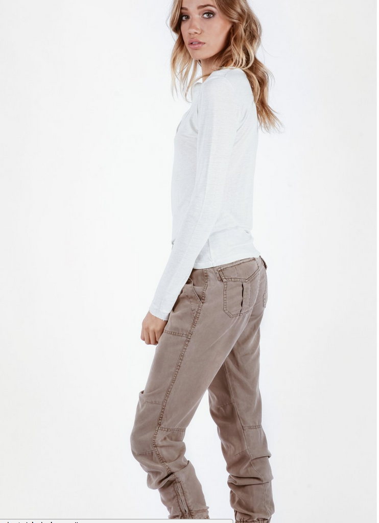 YFB On The Road Cindy Jogger Pant | Toffee, Palm