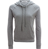 Project Social T Bobbie Raglan Hoodie Sweatshirt | Heather Grey
