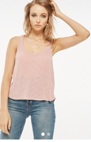 Project Social T Scoop Tank | Rose