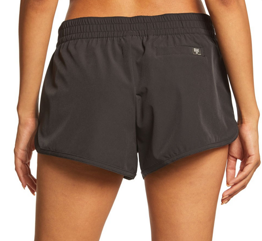 Billabong Women's Sol Searcher Volley Lace up BoardShort | Black Pebble