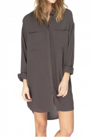 Gentle Fawn Voyage Shirt Dress | Tarragon