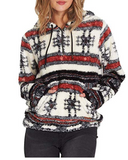 Billabong Women's Cozy For Keeps Polar Fleece Hoodie | MULTI