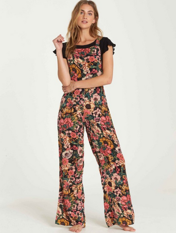 Billabong Women's Still Here Overalls | Multi