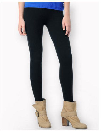 Splendid French Terry Leggings | Black | SALE