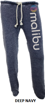 MALIBU SWEATS The Rainbow Collection| Ocean Drive super soft fleece sweatpants