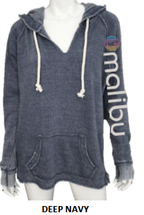 Malibu Sweatshirts | The Rainbow Collection