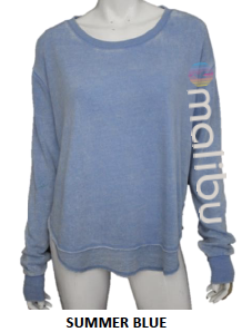 Malibu Sweats | The Rainbow Collection Sweatshirts