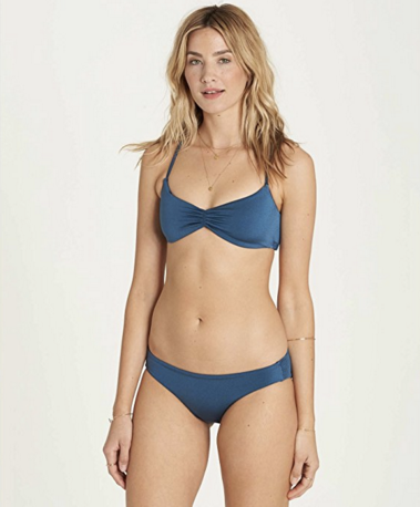 Billabong Women's Sol Searcher Crossback Bikini Top | Blue Bayou