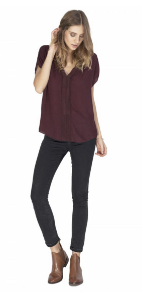 Gentle Fawn Tupelo Top | Currant