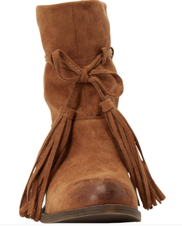 Billabong Monroe Vegan Suede Tassel Boot | Desert Brown | SALE