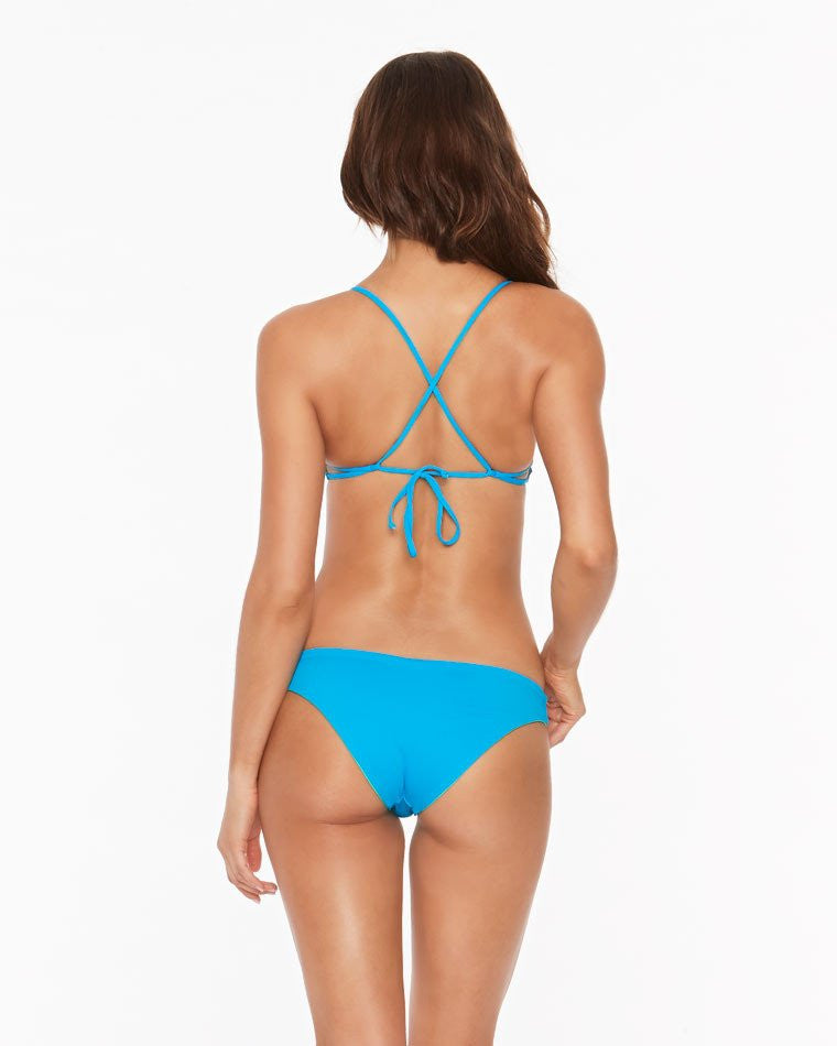 L*Space Two Tone Sandy Bottom Classic | Electric Blue Reversible