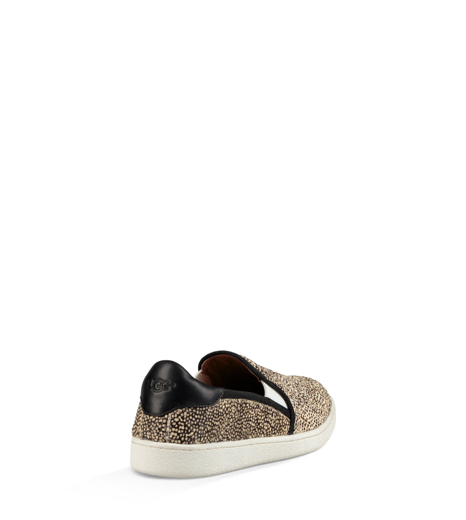UGG Australia Women's Cas Exotic Sneaker | Black/Tan Dotted