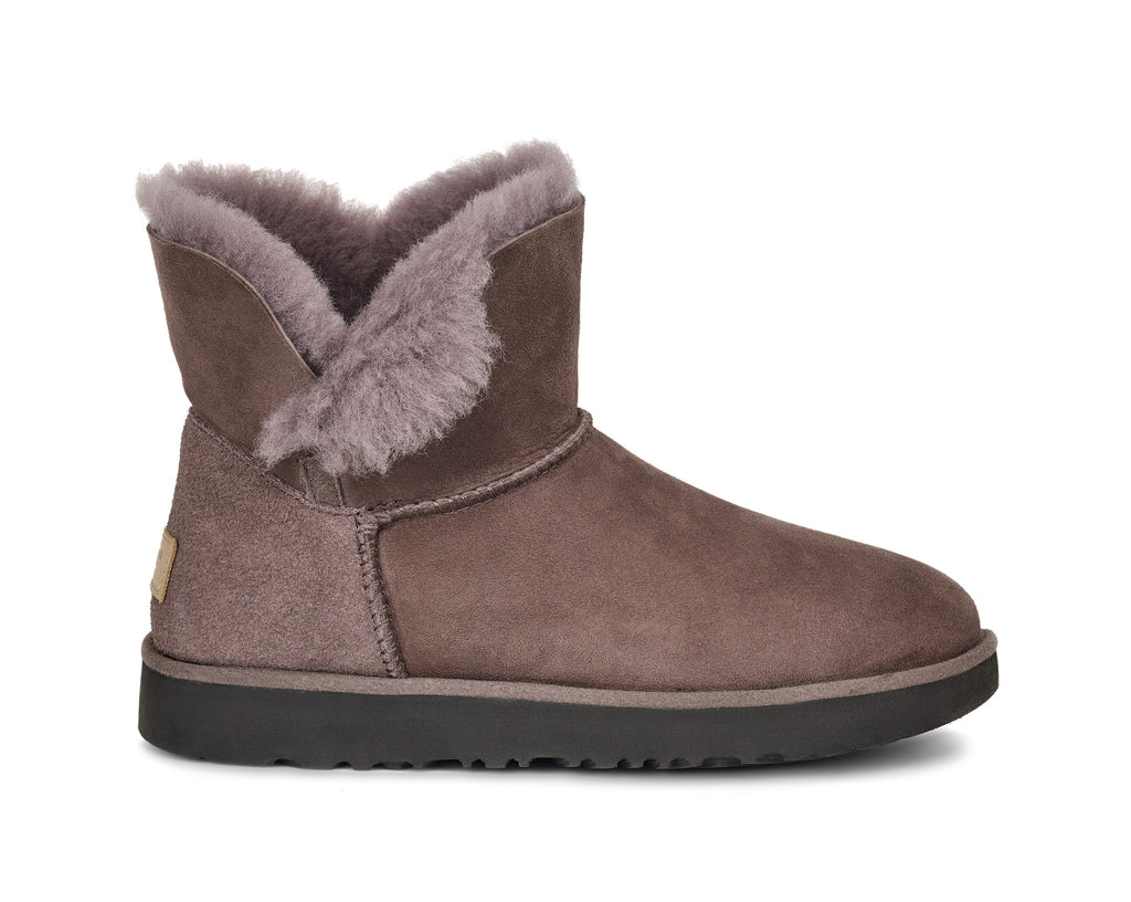 UGG Australia Women's Classic Cuff Mini Boot | Stormy Grey
