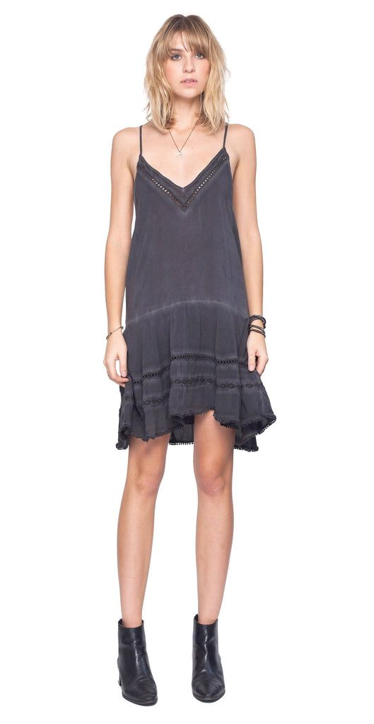 Gentle Fawn Warrior Dress | Washed Black