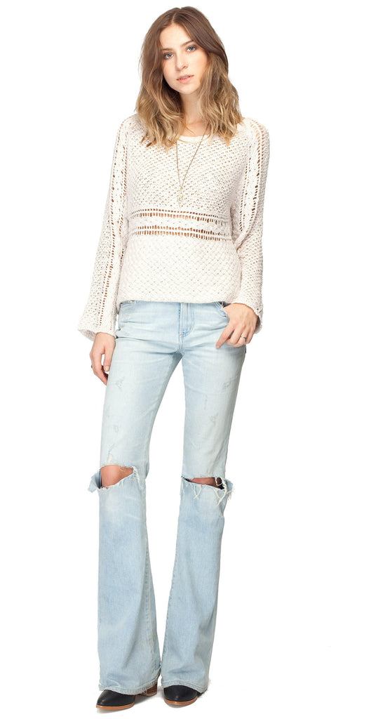 Gentle Fawn Amour Sweater | White Sand