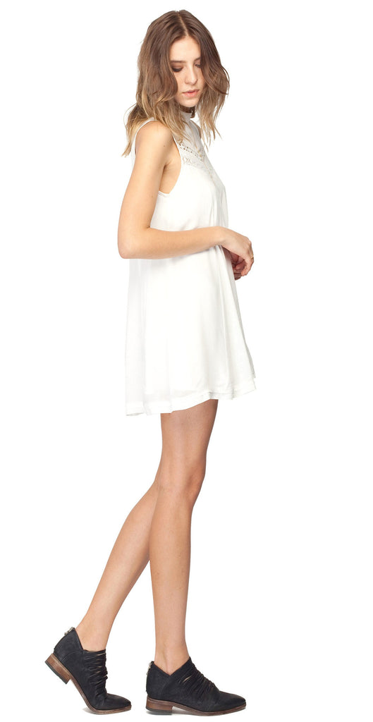Gentle Fawn Jamie High Neck Mini Dress