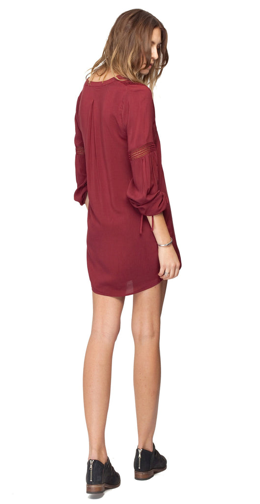 Gentle Fawn Presley Long Sleeve Mini Dress | Auburn