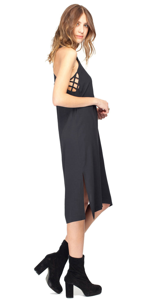 Gentle Fawn Worship Dress | Black