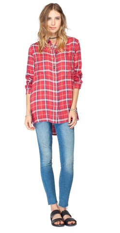 Gentle Fawn Layla Plaid Shirt | Santa Fe Plaid