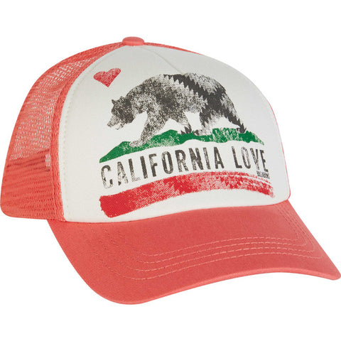 Billabong GIRLS Pitstop California Love Trucker Hat | Pink Crush