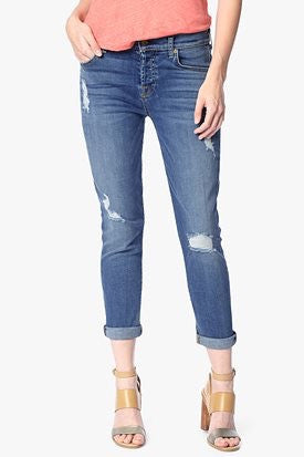 7 For All Mankind Josefina w/ Roll & Destroy | Sloan Heritage Medium Light Size 31 | LAST PAIR | SALE