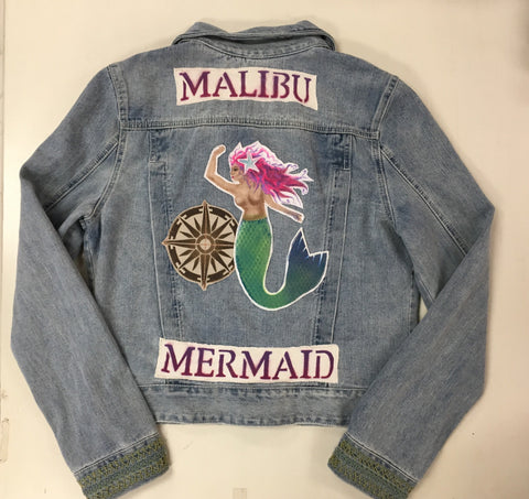 One of a Kind MOJO MEDICINE JACKETS  by: LYDIA'S LYDS  Size:Large