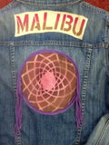 One of a Kind Malibu DreamCatcher Patchwork MOJO MEDICINE by: LYDIA'S LYDS Size:Medium