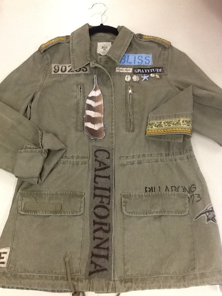 One of a Kind MOJO MEDICINE JACKETS  by: LYDIA'S LYDS  Size:M