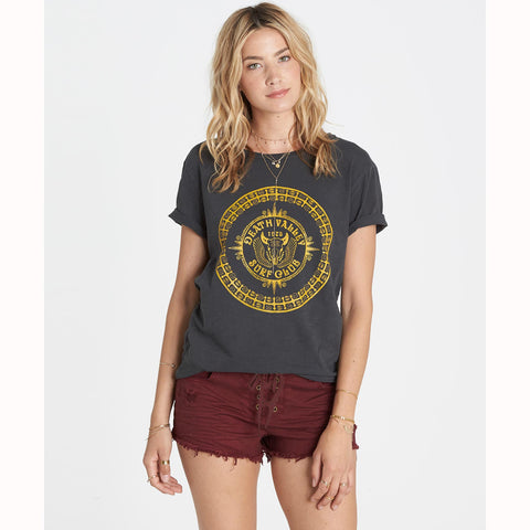 Billabong Lite Hearted Denim Shorts | Mystic Maroon