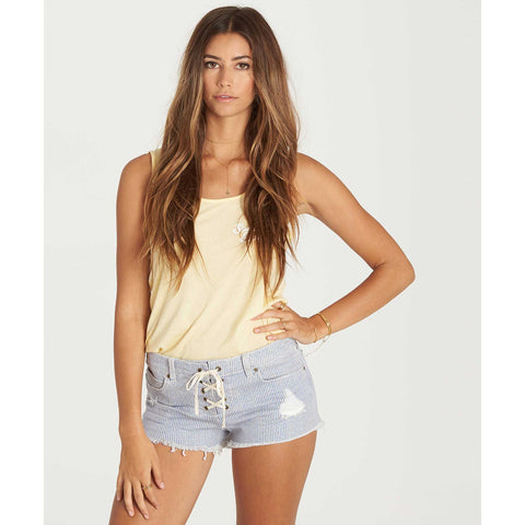 Billabong Lite Hearted Denim Shorts | Railroad