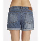 Billabong Women's Frankie Denim Shorts | Medium Well Worn