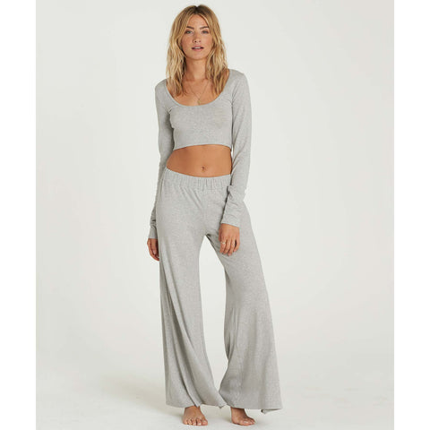 Billabong Women's She Goes Pant | Athletic Grey