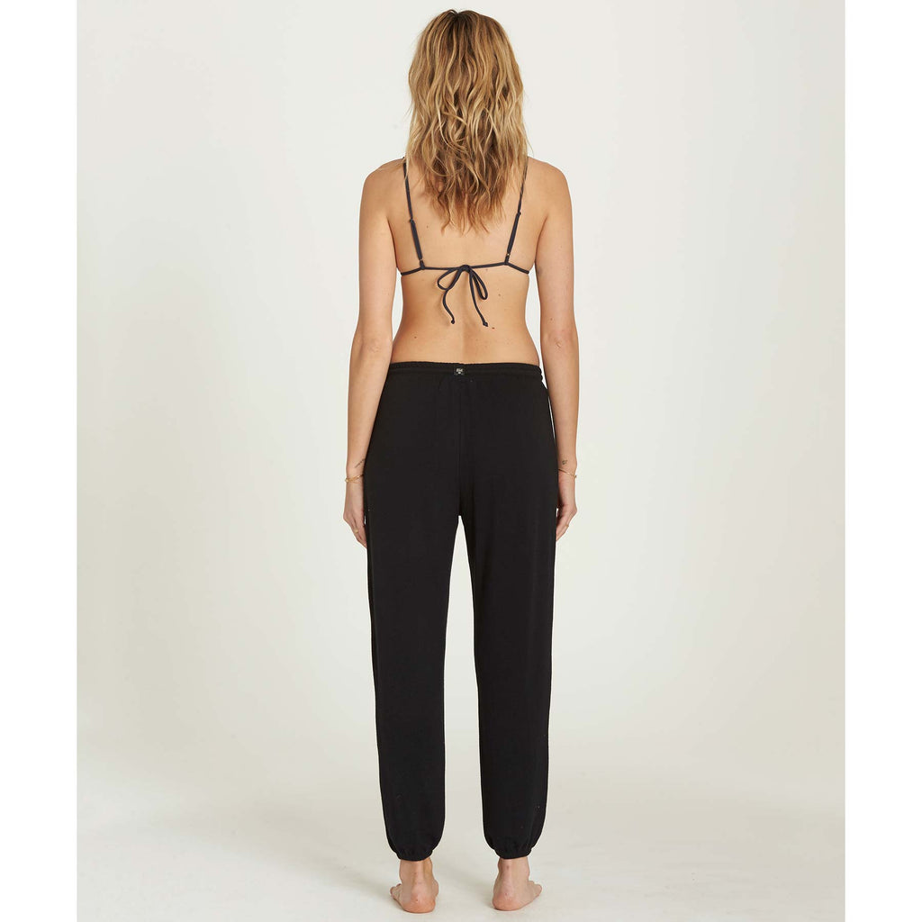 Billabong Women's Cozy Coast Sweatpants | Off Black
