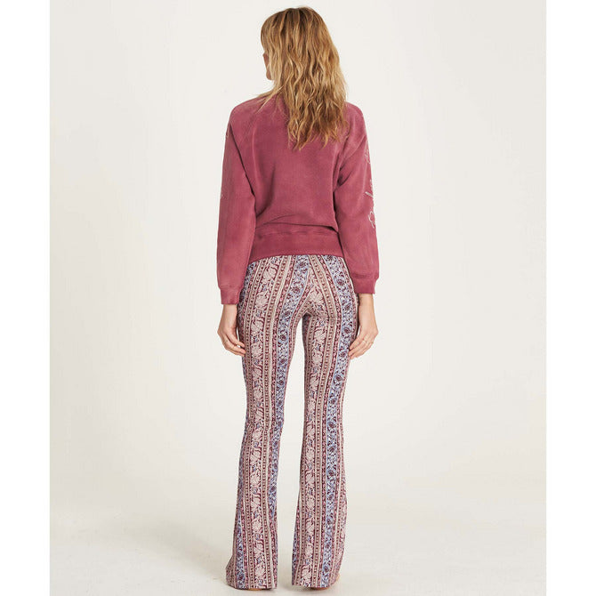 Billabong Women's Sun Down bell Pant | Scarlet