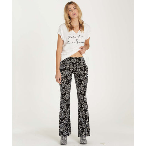 Billabong Women's Turn me Round Velvet Pant | Black