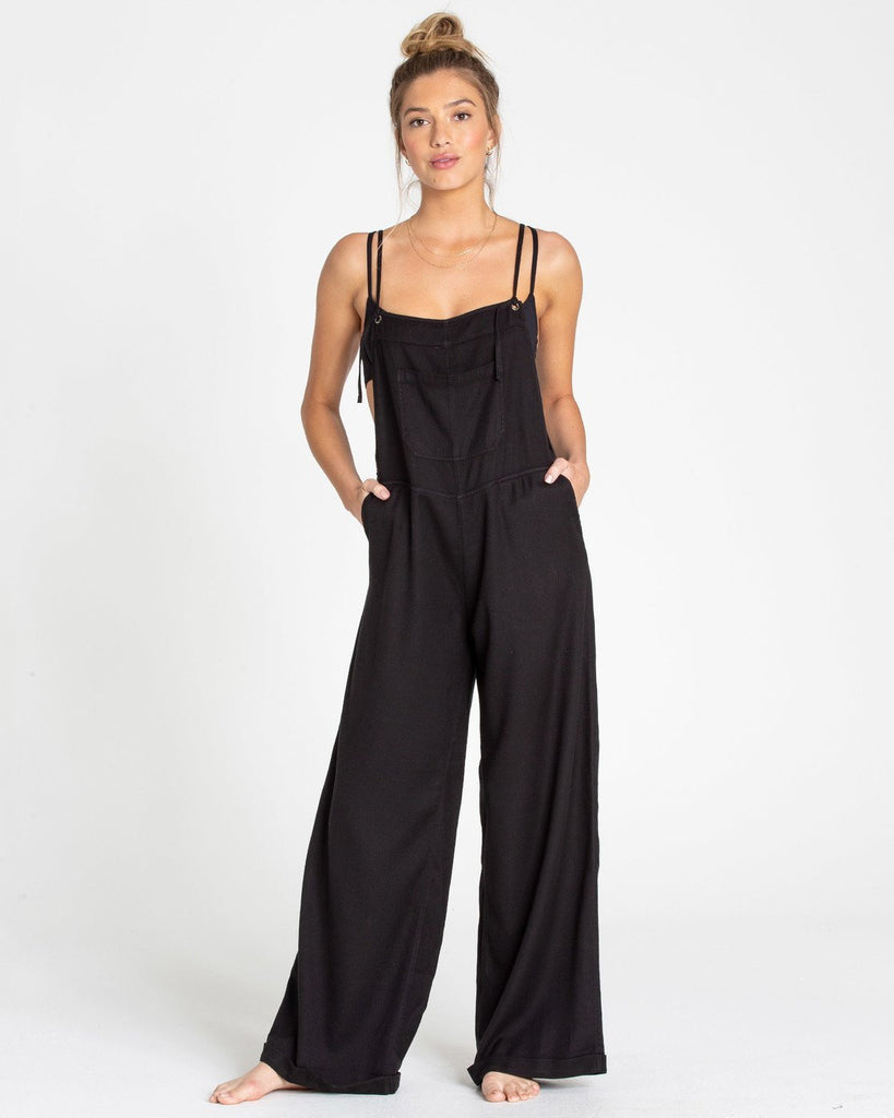 Billabong Women's Wild Lengths Overall Jumpsuit