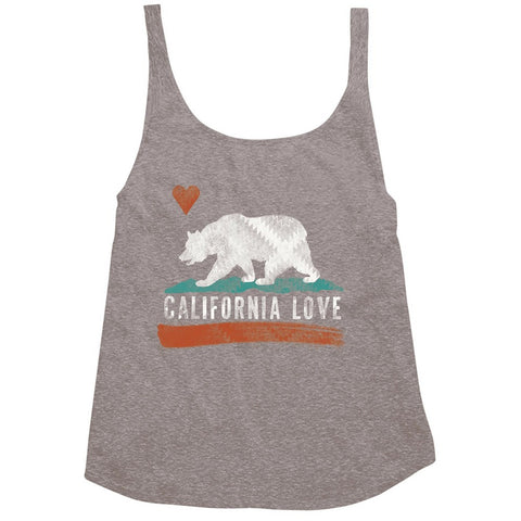 Billabong Cali Bear Tank | Dark Athletic Grey