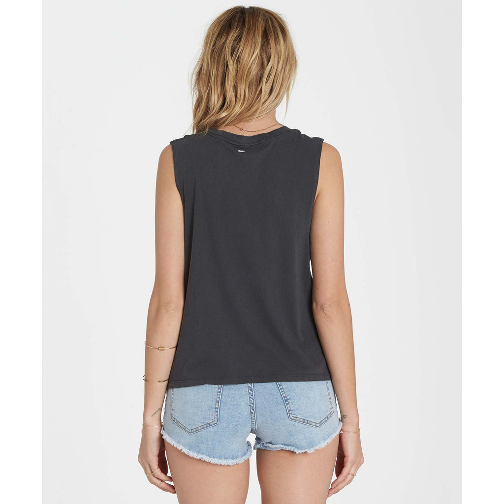 Billabong Women's Golden Days Muscle Tank | Off Black