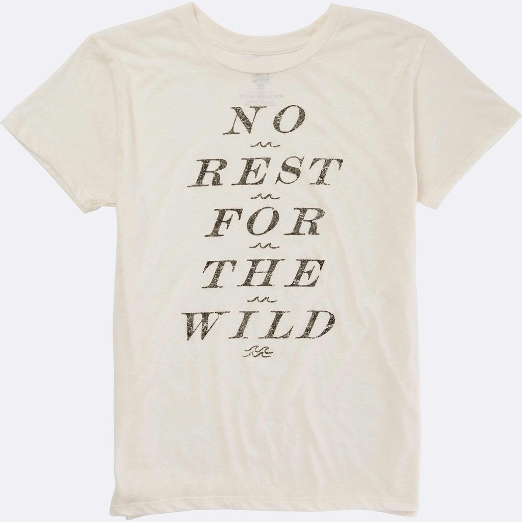 Billabong No Rest For The Wild Tee | White Cap