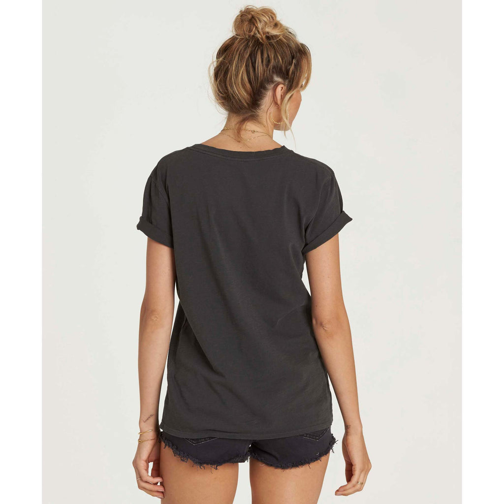 Billabong Women's At Your Side Tee | Off Black