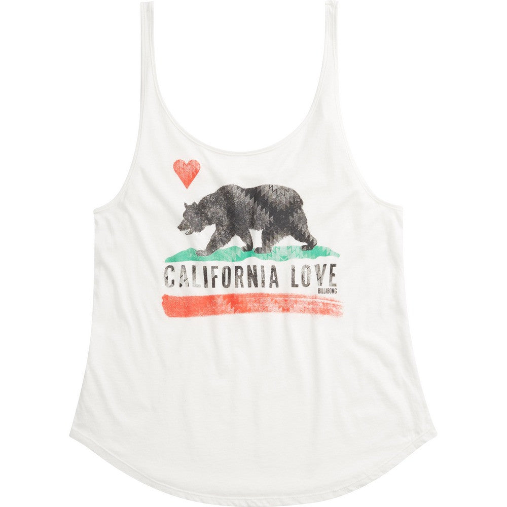 Billabong Women's Cali Bear Original Tank | Cool Wip