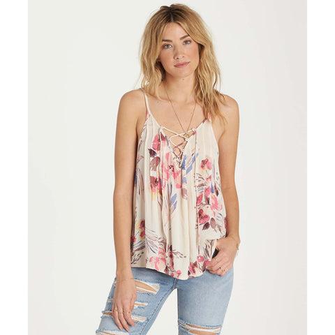 Billabong Women's Illusions Of Camisole Tank | Ivory