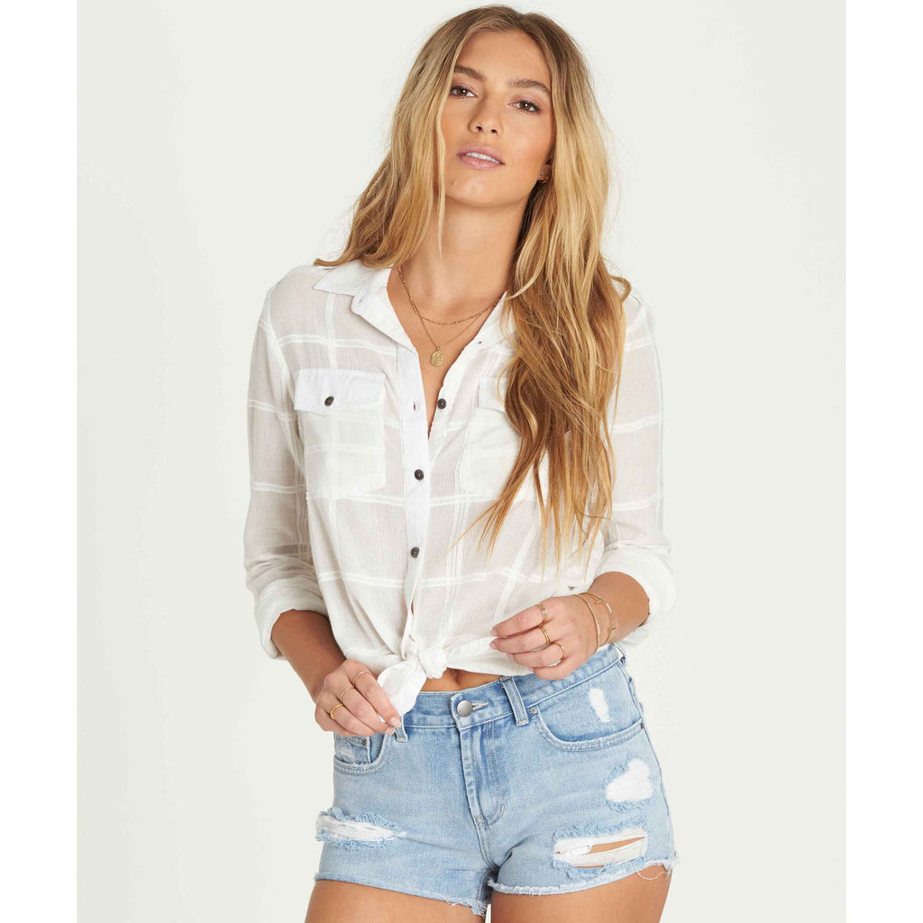 Billabong Women's Venture Out Buttoned Down Shirt | Cool Wip