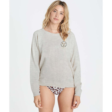 Billabong Women's Salt Flats Fleece Sweatshirt | Cool Wip