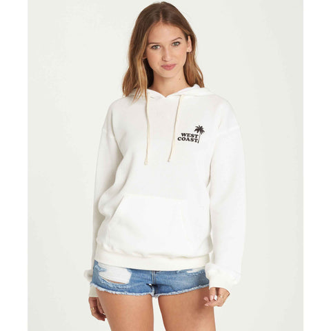 Billabong Women's West Coast Pullover Hoodie Follow Me To Paradise | Cool Wip