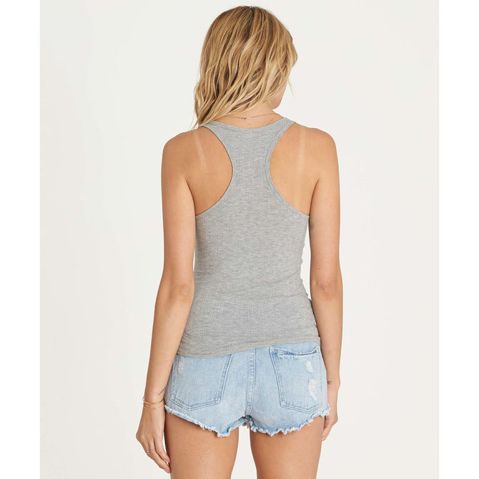Billabong Women's More Joy Top | Athletic Grey