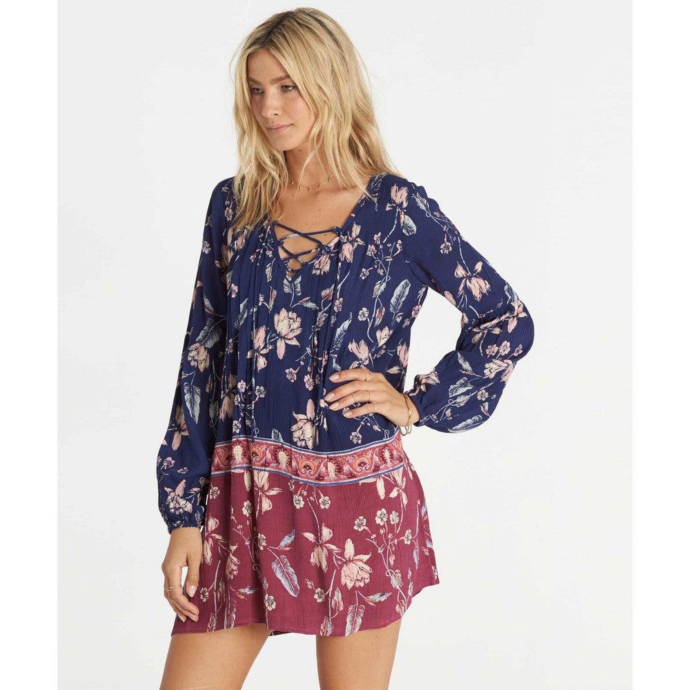 Billabong Women's Just Like You Dress | Starry Night | SALE